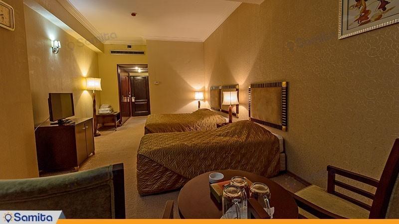 اتاق سه تخته هتل بین المللی شهریار