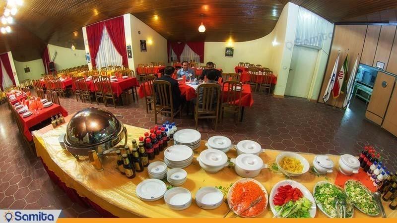 رستوران مهمانسرای جهانگردی تاکستان