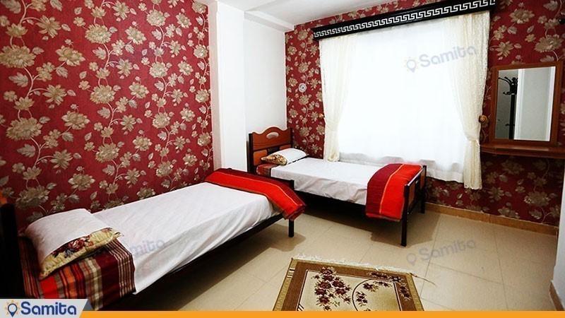 اتاق دو تخته هتل آپارتمان راستین