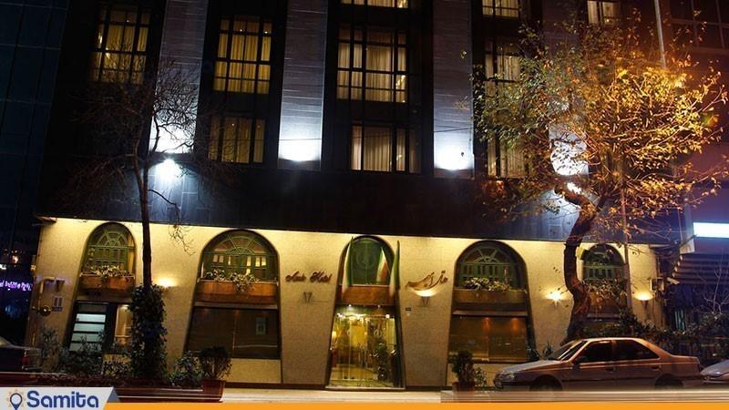 نمای ساختمان هتل امیر