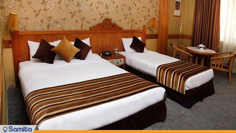 اتاق سه تخته هتل امیر