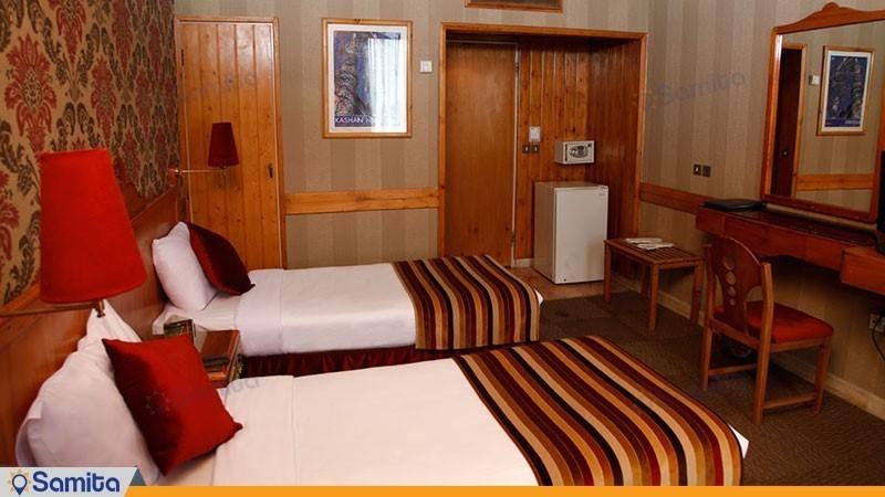 اتاق دو تخته هتل امیر