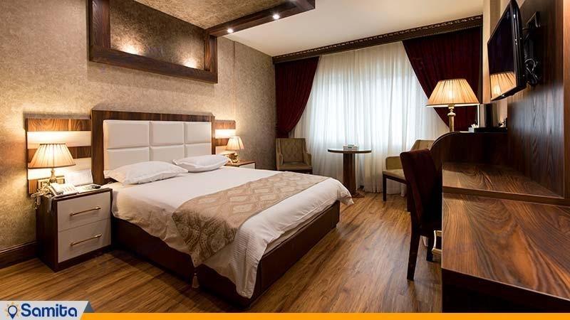 اتاق دبل هتل بین المللی بوتیک آرامیس