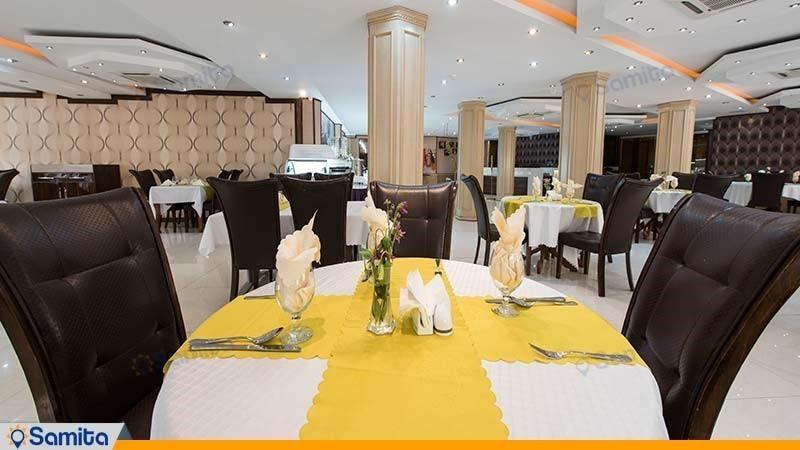 رستوران هتل بین المللی بوتیک آرامیس