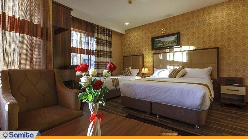 اتاق سه نفره هتل بهار تهران
