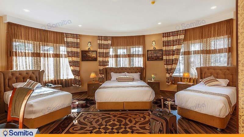 سوئیت سه نفره هتل بهار تهران