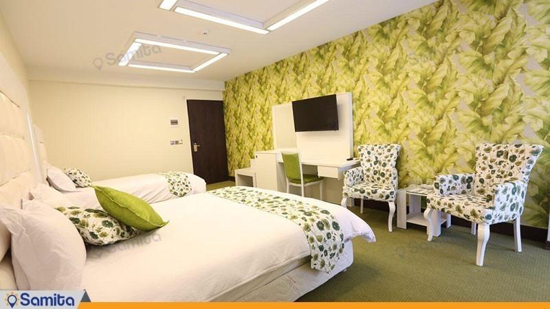 اتاق دو تخته هتل بلوط