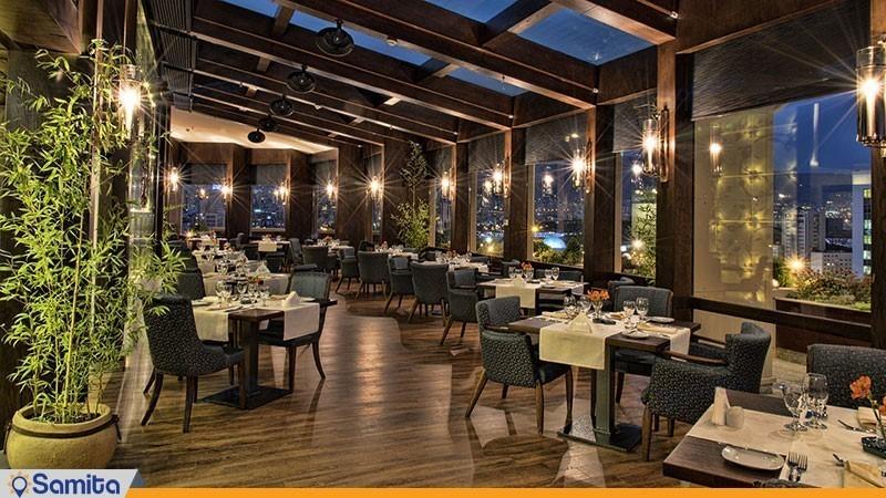 رستوران کانتیننتال هتل اسکان الوند