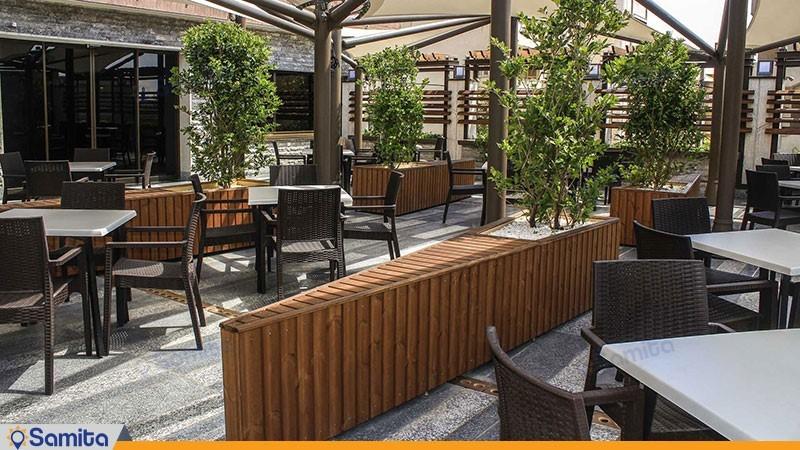 رستوران روف گاردن هتل اسکان الوند