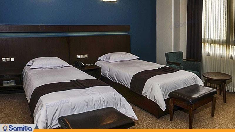 اتاق دوتخته هتل اسکان الوند