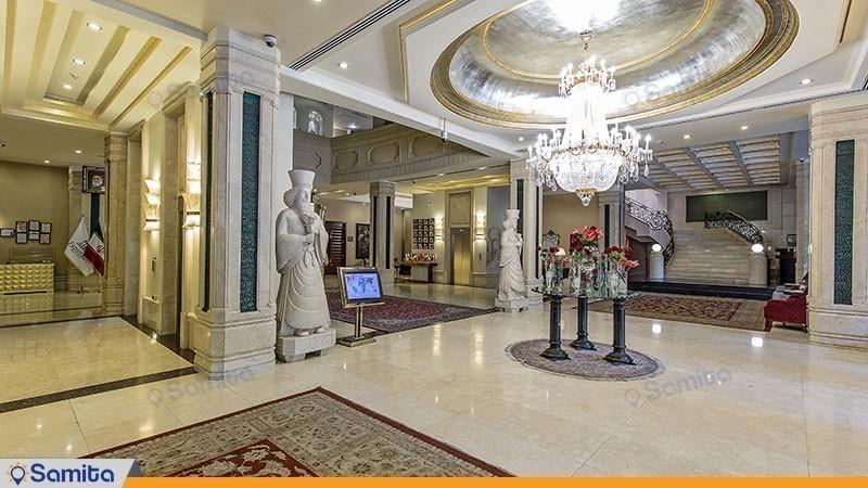 لابی هتل اسپیناس خلیج فارس