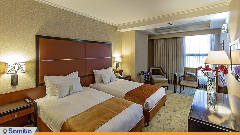 اتاق دو تخته هتل اسپیناس خلیج فارس