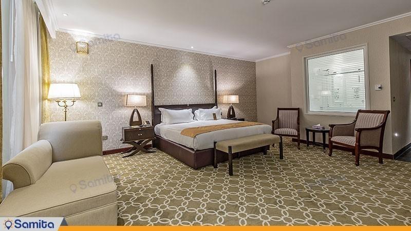 اتاق دبل هتل اسپیناس پالاس