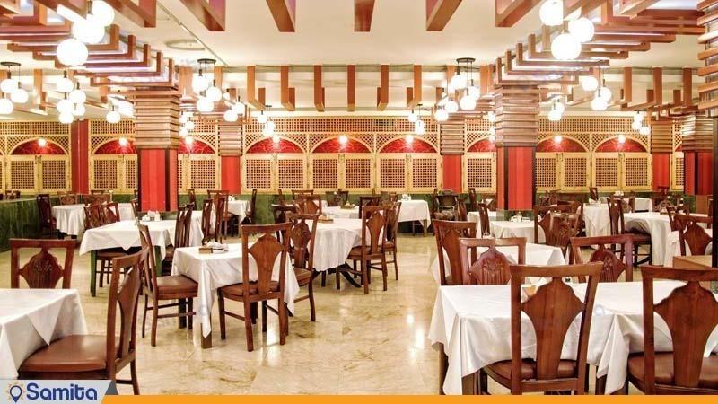 سالن صبحانه خوری هتل بزرگ فردوسی تهران