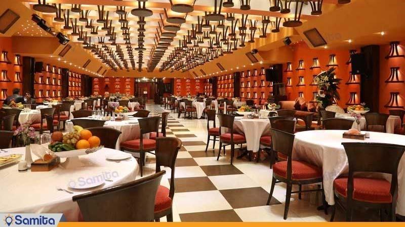 سالن پذیرایی هتل بزرگ فردوسی تهران