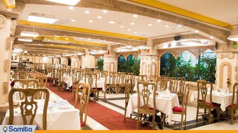 رستوران هتل بزرگ فردوسی تهران