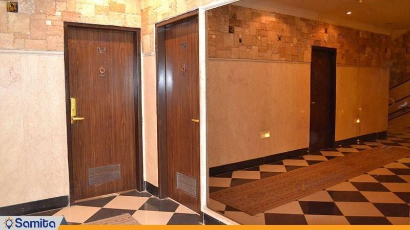 راهرو هتل حافظ