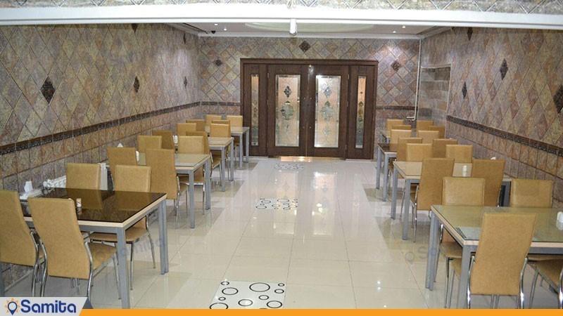 رستوران هتل حافظ