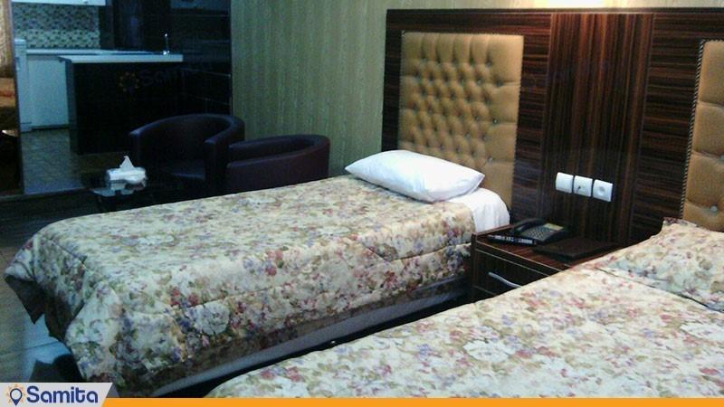 اتاق سه تخته هتل حافظ