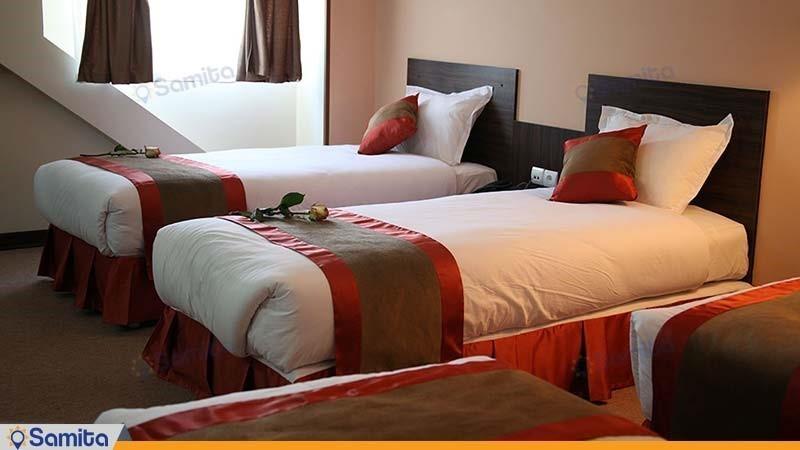 اتاق چهار نفره هتل حجاب
