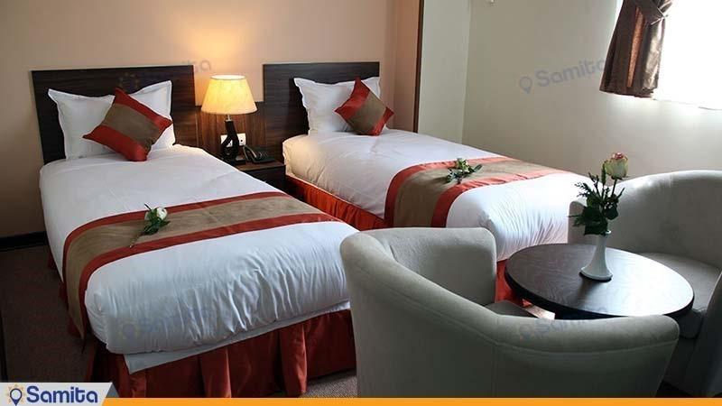 اتاق دو تخته هتل حجاب