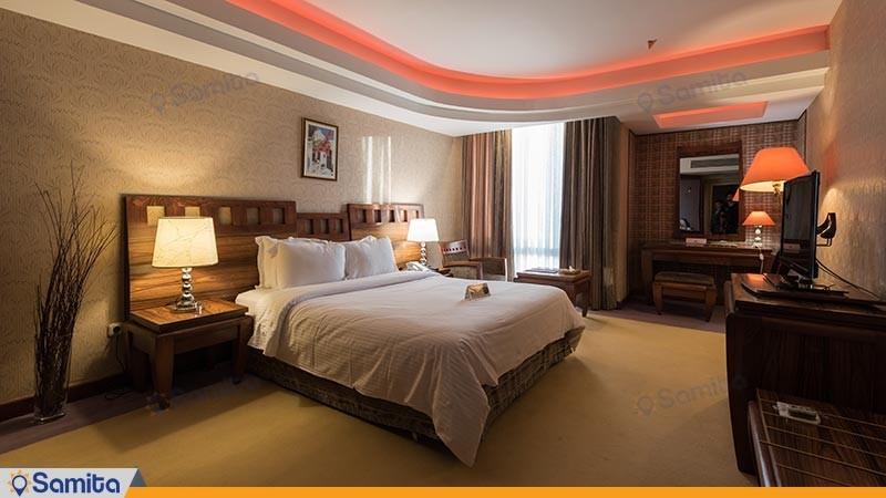 اتاق دو تخته دبل هتل هما