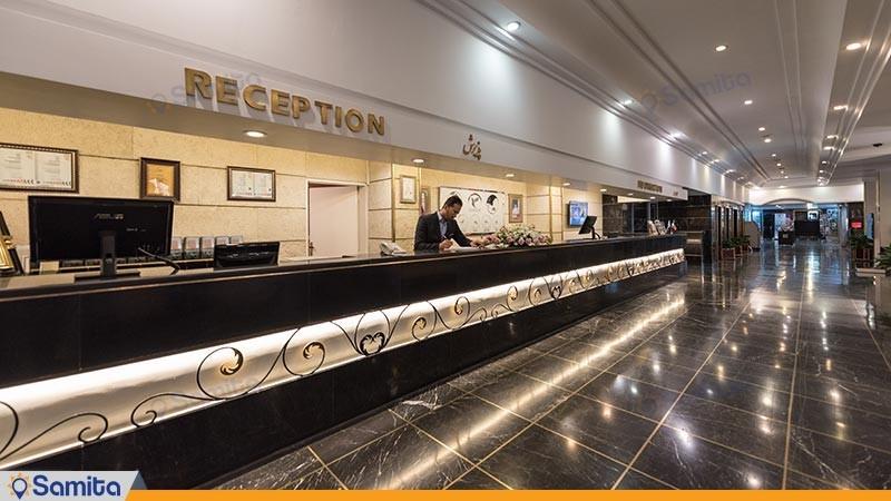 پذیرش هتل هما