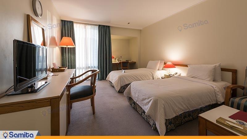 اتاق دو تخته توئین هتل هما