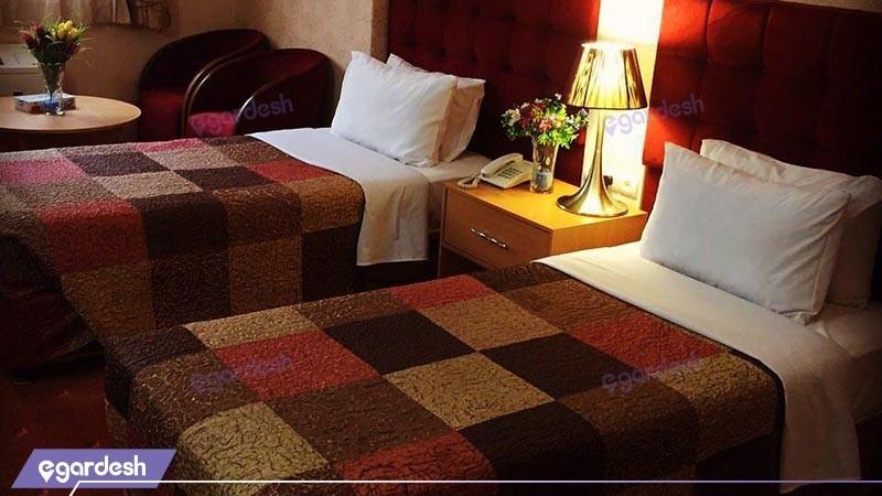 اتاق دوتخته توئین هتل ایران