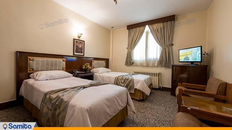 اتاق دو نفره هتل ایرانشهر