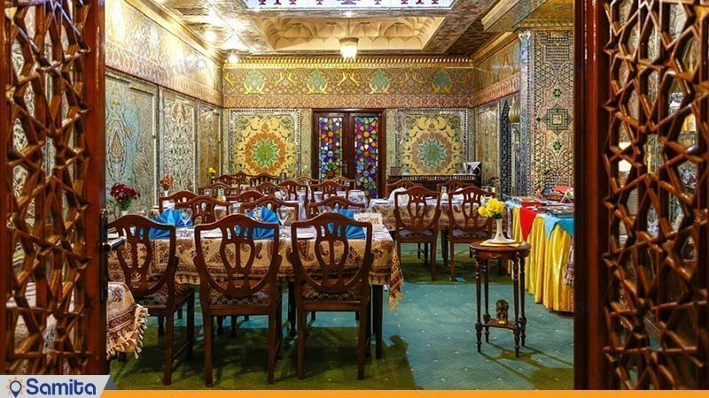 رستوران نمکدون هتل لاله تهران