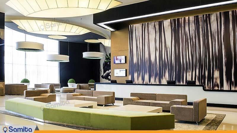 لابی هتل نووتل