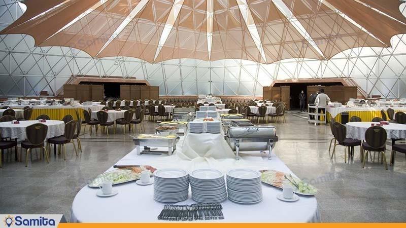 تالار آبگینه هتل المپیک تهران
