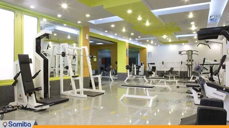 باشگاه بدنسازی هتل المپیک تهران