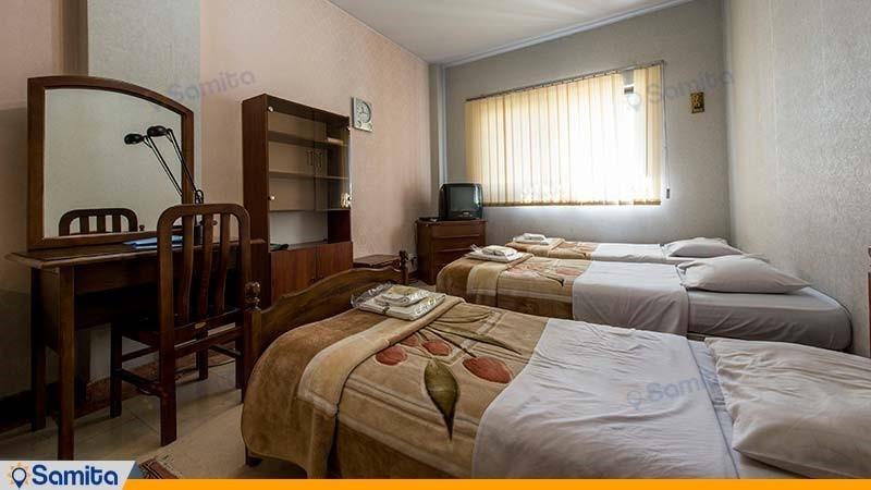 اتاق سه تخته هتل پژوهش