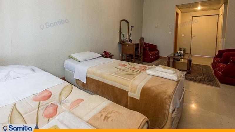 اتاق دو تخته هتل پژوهش