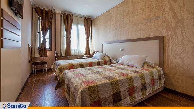 اتاق دو تخته هتل پامچال تهران