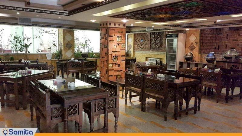 رستوران هتل آپارتمان پارس تهران