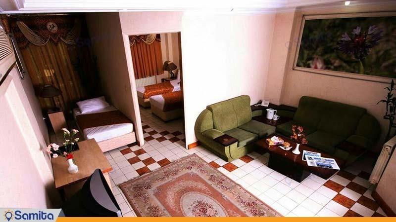 آپارتمان سه نفره هتل آپارتمان پارس تهران