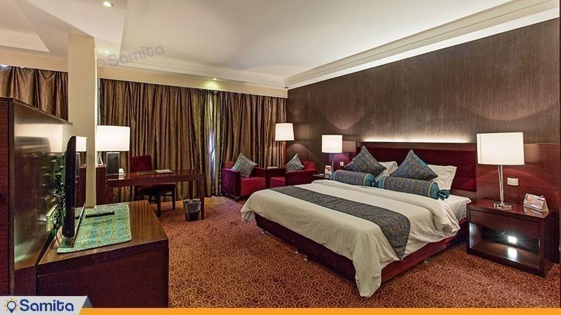 الجناح الدوبلكس فندق بارسيان ازادي طهران
