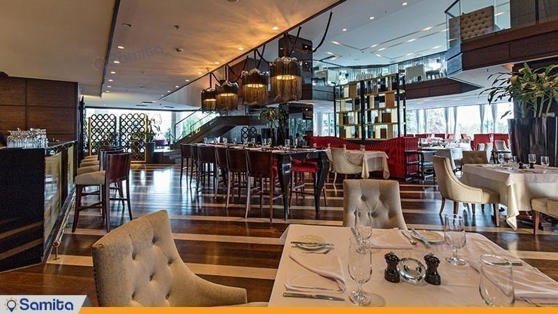 رستوران ایتالیایی هتل پارسیان آزادی تهران