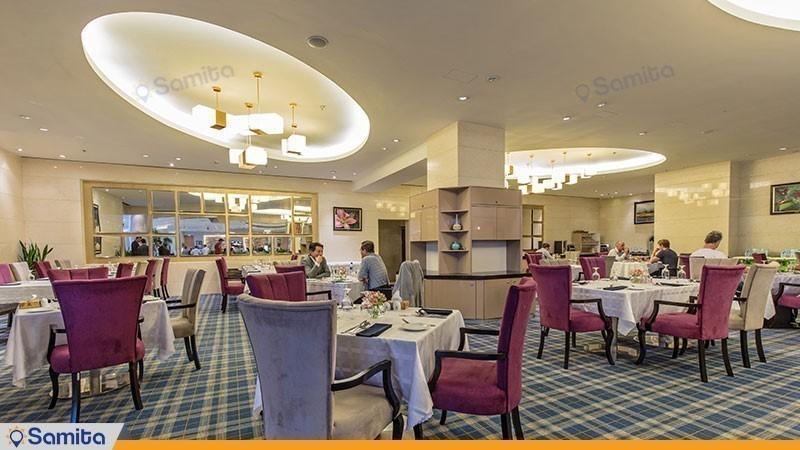 مطعم فندق بارسيان ازادي طهران