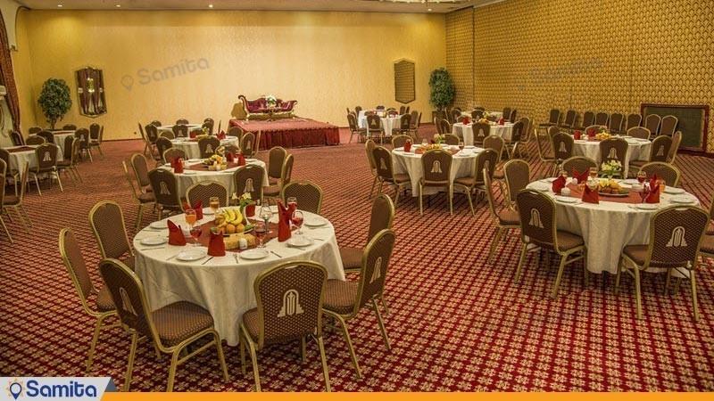 رستوران پارسه هتل پارسیان انقلاب
