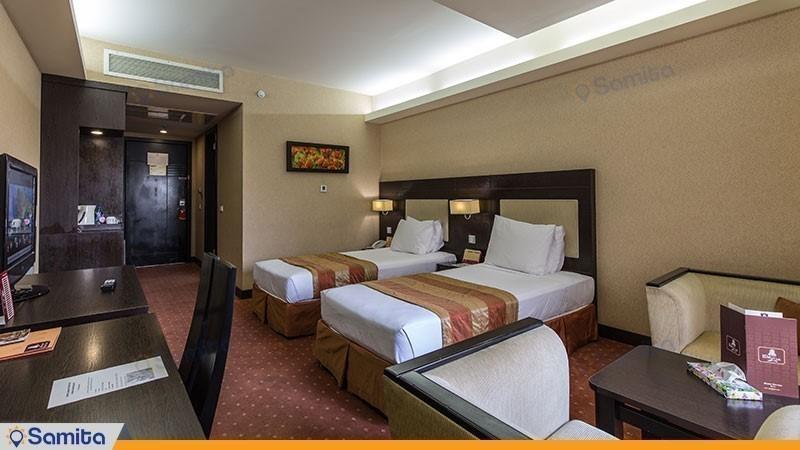اتاق دو تخته هتل پارسیان اوین