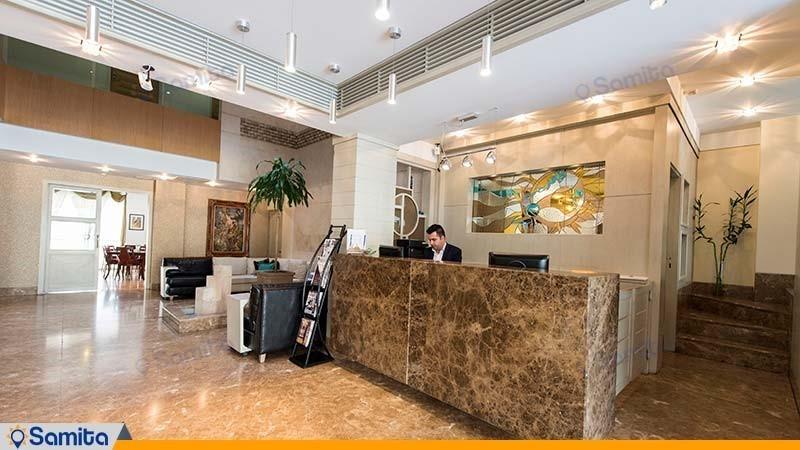 پذیرش هتل ساینا