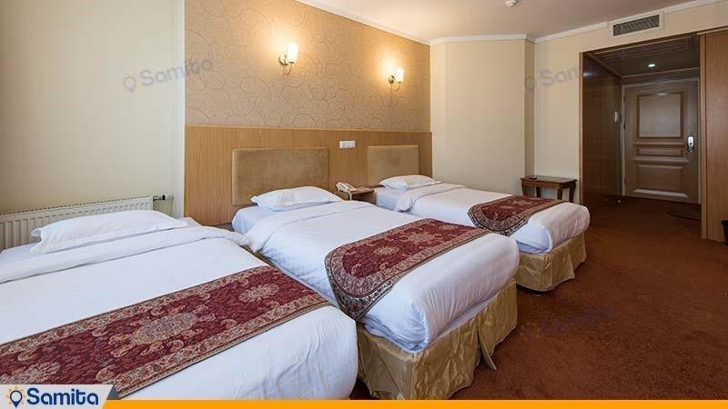 اتاق سه تخته هتل ساینا