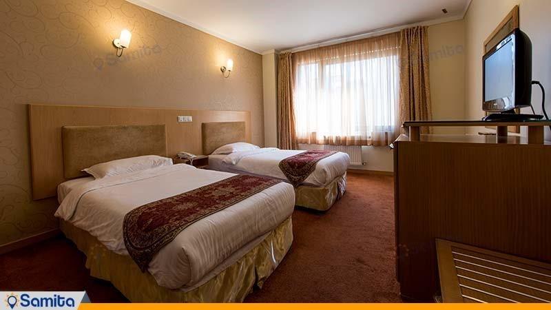 اتاق دو تخته هتل ساینا