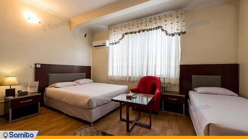 اتاق دبل هتل ورزش