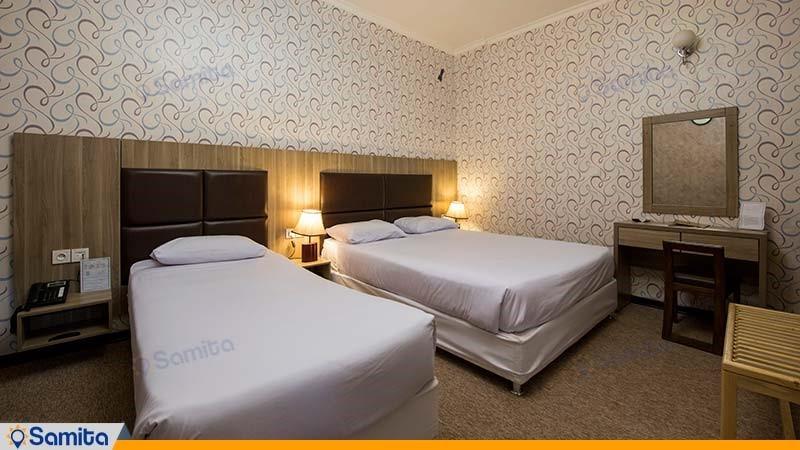 اتاق سه تخته هتل ورزش
