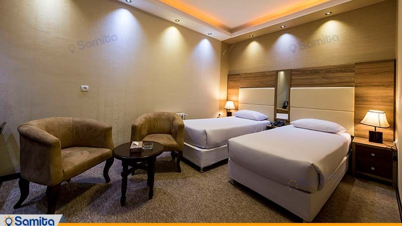 اتاق دو تخته هتل ورزش
